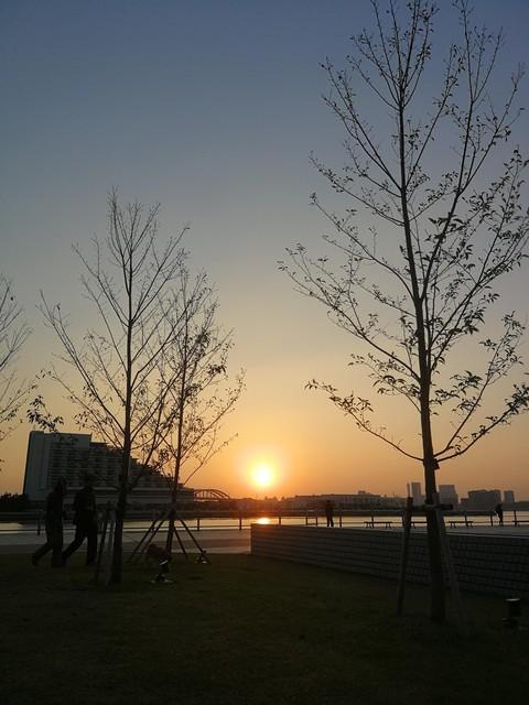 朝のメリケンパーク.jpg